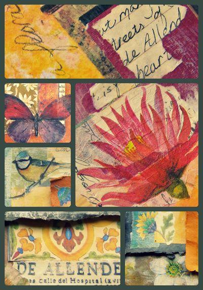 Allende collage